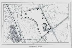 Расположение (50,2628 Га) – в 1,1 восточнее ст.Полетаево-2